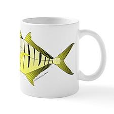 Yellow Trevally (aka Yellow Jack) fish Mug