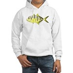 Yellow Trevally (aka Yellow Jack) fish Hoodie