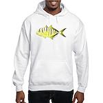 Yellow Trevally (aka Yellow Jack) fish Hoodie