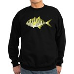 Yellow Trevally (aka Yellow Jack) fish Sweatshirt
