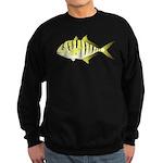 Yellow Trevally (aka Yellow Jack) fish Sweatshirt
