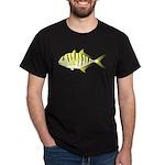 Yellow Trevally (aka Yellow Jack) fish T-Shirt