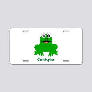 Frog Just Add Name Aluminum License Plate