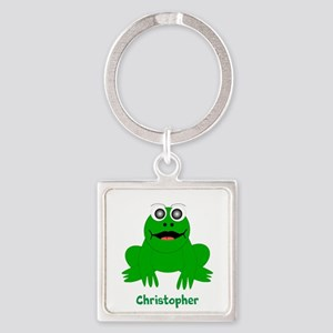 Frog Just Add Name Keychains
