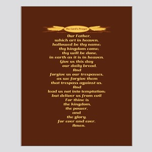 The Lords Prayer Wheat Small Poster