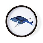 Humpback Whale (solo) Wall Clock