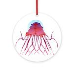 Deep Sea Jellyfish (Crossota Chillipeper) Ornament