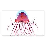 Deep Sea Jellyfish (Crossota Chillipeper) Sticker