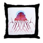 Deep Sea Jellyfish (Crossota Chillipeper) Throw Pi