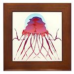 Deep Sea Jellyfish (Crossota Chillipeper) Framed T