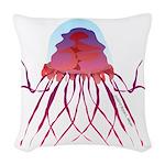 Deep Sea Jellyfish (Crossota Chillipeper) Woven Th