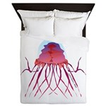 Deep Sea Jellyfish (Crossota Chillipeper) Queen Du