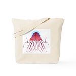 Deep Sea Jellyfish (Crossota Chillipeper) Tote Bag