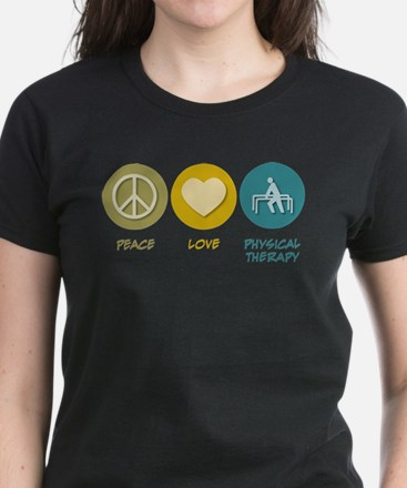 Peace Love Physical Therapy T-Shirt