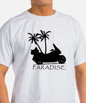 Wing in Paradise Ash Grey T-Shirt