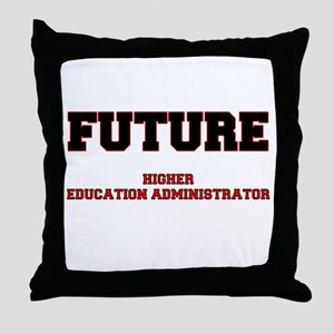 Future Higher Education Administrator Throw Pillow