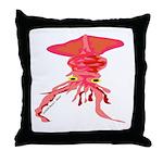 Colossal Squid (Annas Antarctica) Throw Pillow