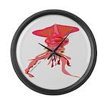 Colossal Squid (Annas Antarctica) Large Wall Clock
