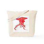 Colossal Squid (Annas Antarctica) Tote Bag