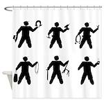 Universal Crew Identifiers Shower Curtain