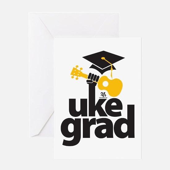 Uke Grad Greeting Card