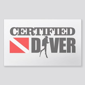Certified Diver Sticker