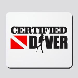 Certified Diver Mousepad