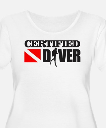 Certified Diver Plus Size T-Shirt