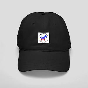 Proud Democrat Black Cap