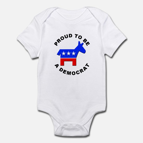 Proud Democrat Infant Bodysuit
