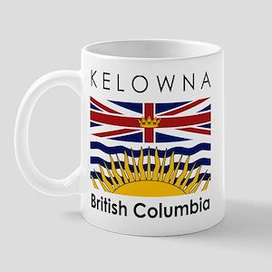Kelowna British Columbia Mug