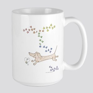 Doxie Rainbow Love Mug