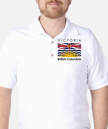 Victoria British Columbia Golf Shirt