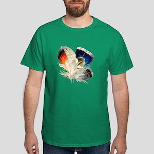 Feathers Dark T-Shirt