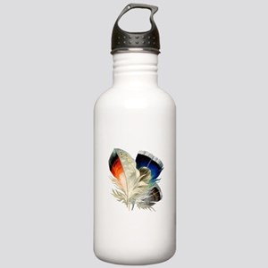 Feathers Stainless Water Bottle 1.0L
