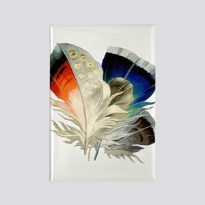 Feathers Rectangle Magnet
