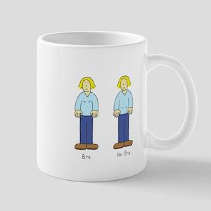 Bra No Bra Small Mug