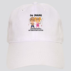 30th Anniversary Mens Fishing Cap
