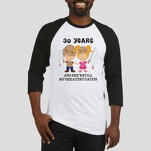 30th Anniversary Mens Fishing Baseball Jersey