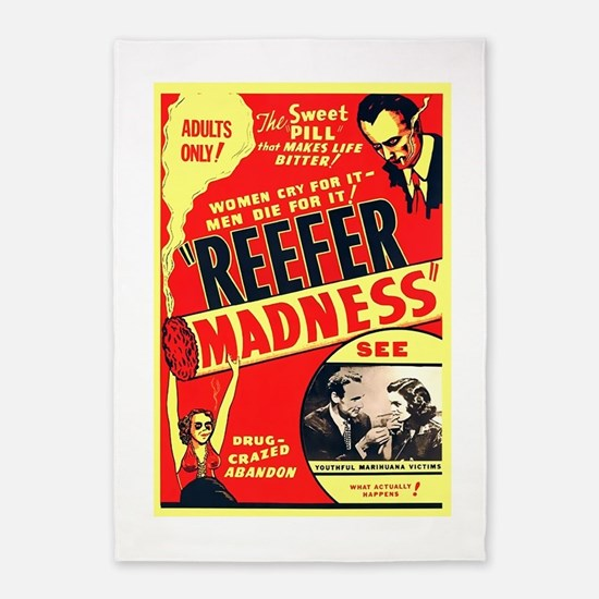 Reefer Madness 5'x7'Area Rug