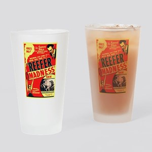 Reefer Madness Drinking Glass