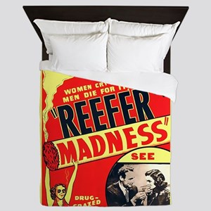 Reefer Madness Queen Duvet