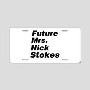 Future Mrs Aluminum License Plate