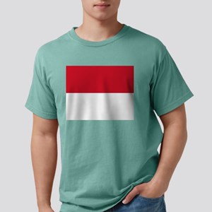 Flag of Monaco - Drapeau Mens Comfort Colors Shirt