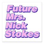 Future Mrs Square Car Magnet 3