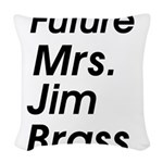 Future Mrs Woven Throw Pillow