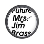 Future Mrs Wall Clock