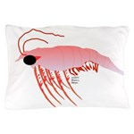 Pink Krill Pillow Case