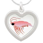 Pink Krill Necklaces
