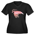 Pink Krill Plus Size T-Shirt